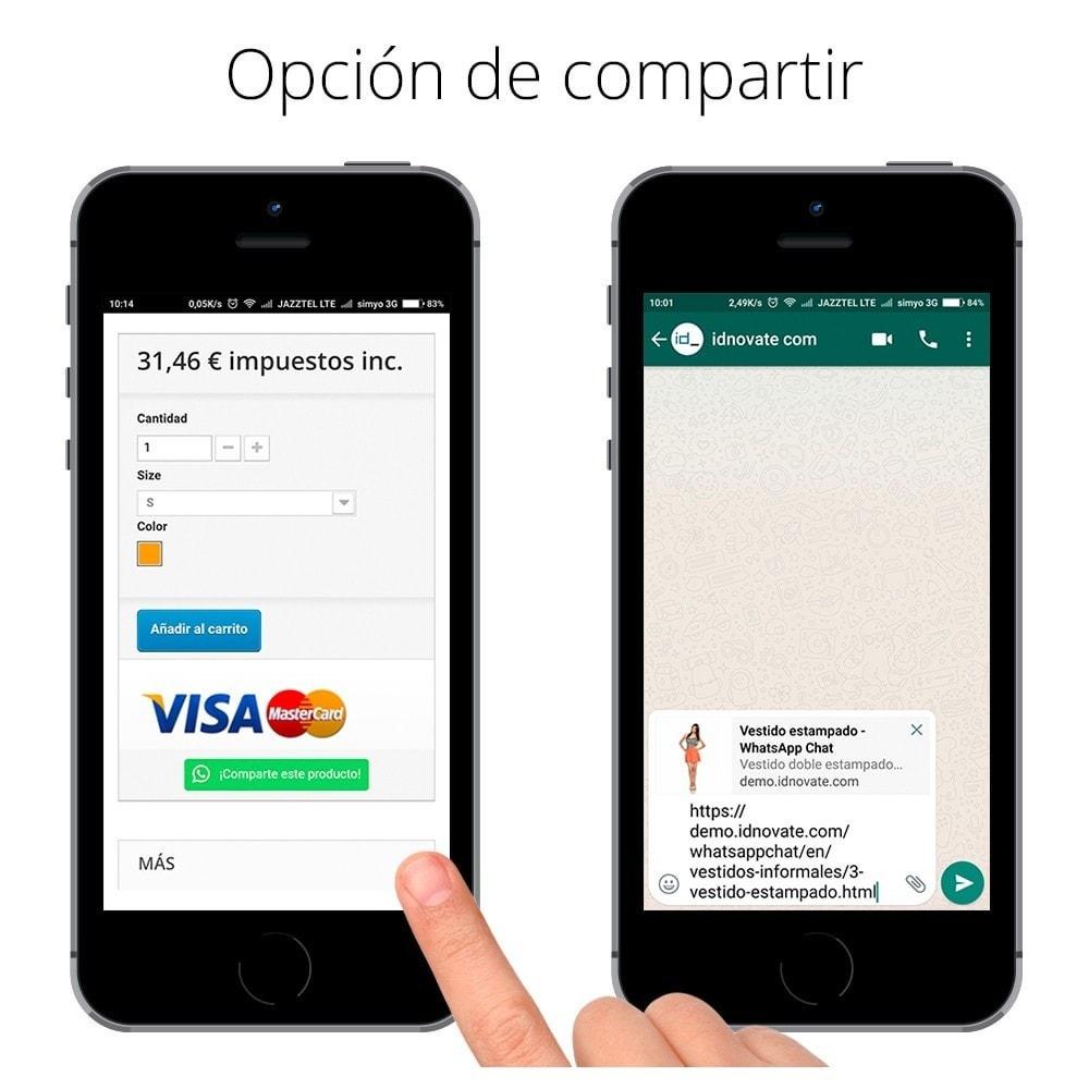 module - Asistencia & Chat online - WhatsApp - Chat con clientes y WhatsApp para Negocios - 15