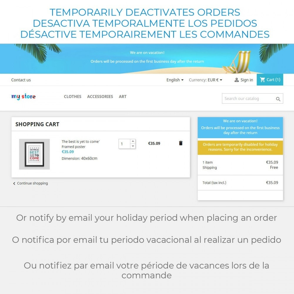 module - SAC - Message on Holiday - 4