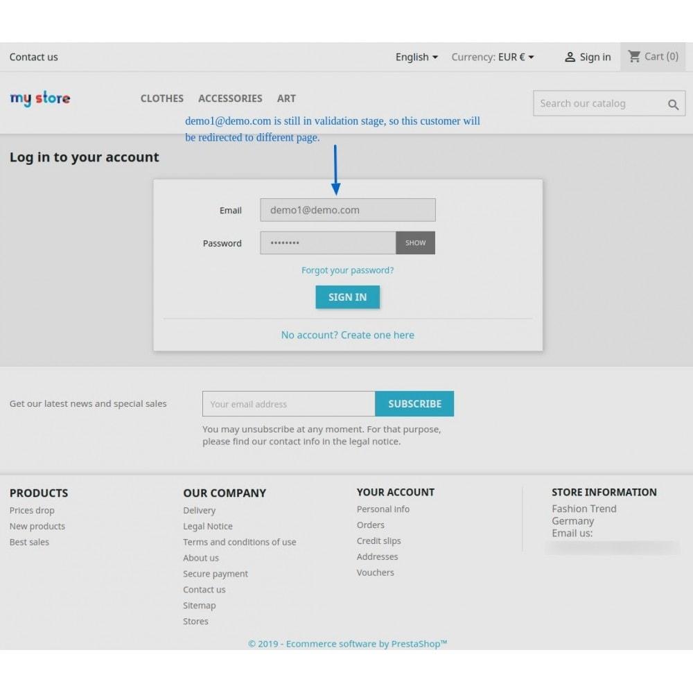 module - Administração dos Clientes - Customer Validate By Admin - 10