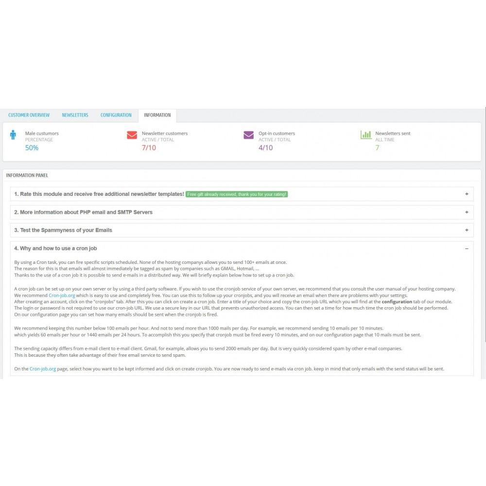 module - Nieuwsbrief & SMS - Nieuwsbrieven bouwen en verzenden - 11