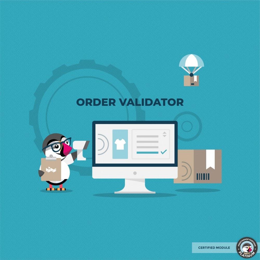 module - Gerenciamento de pedidos - Validate Orders - 1