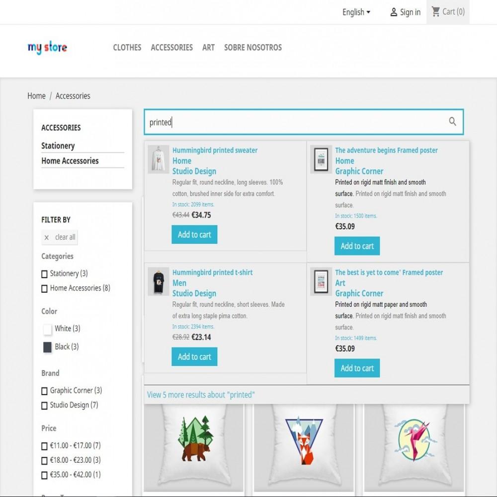 module - Suche & Filter - Block Search Suggestions - 4