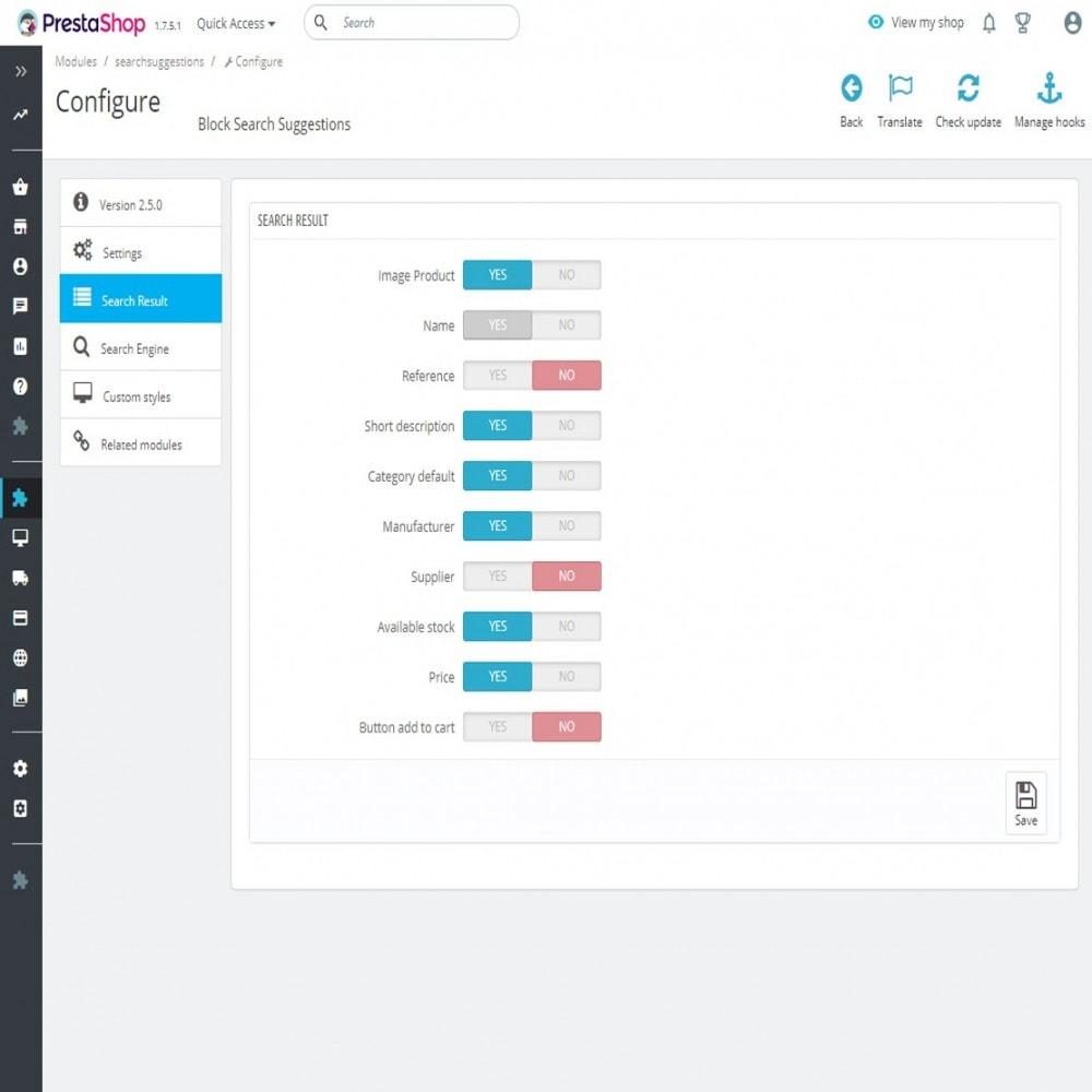 module - Búsquedas y Filtros - Bloque de búsqueda con sugerencias - 7