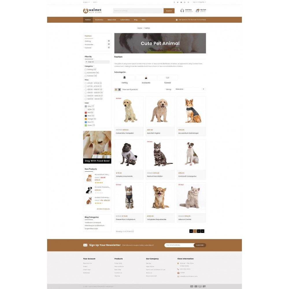 theme - Animales y Mascotas - Walmet - Pets Store - 3