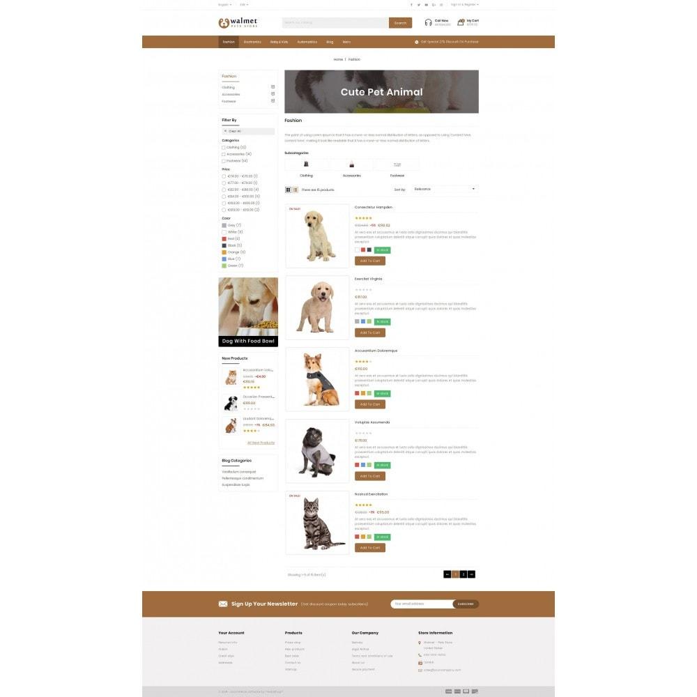 theme - Animales y Mascotas - Walmet - Pets Store - 4