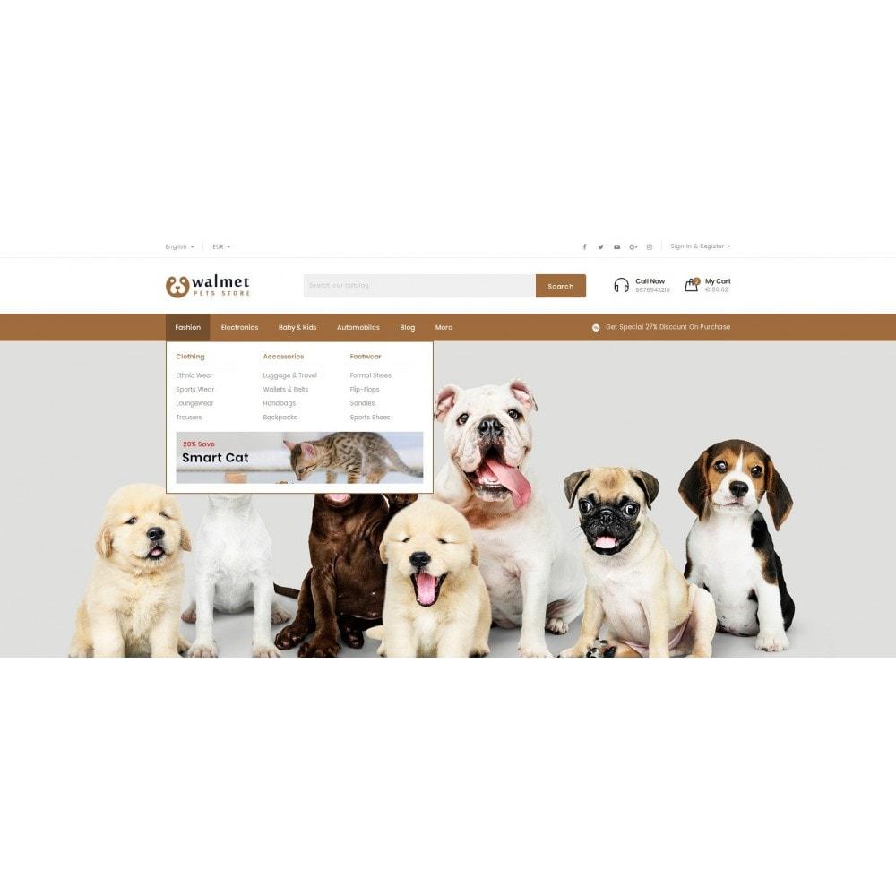 theme - Animales y Mascotas - Walmet - Pets Store - 6