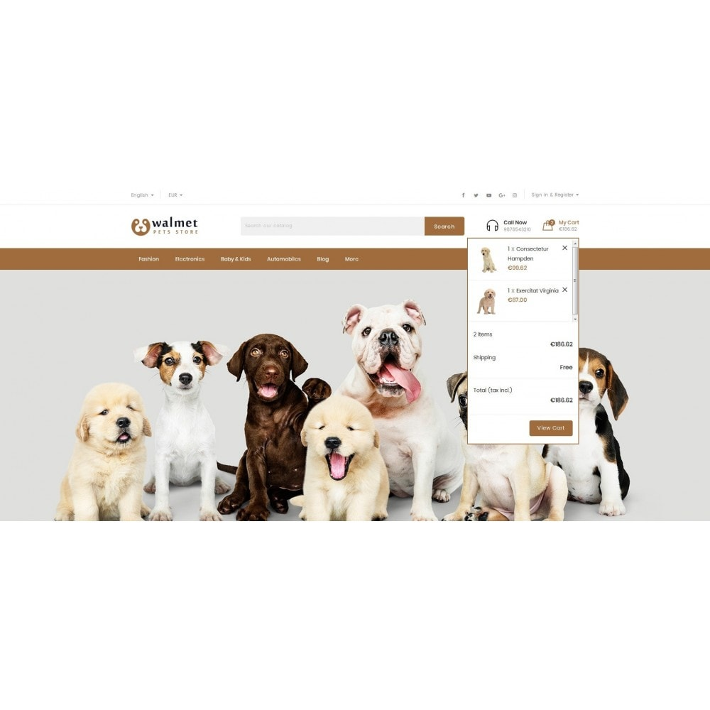 theme - Animales y Mascotas - Walmet - Pets Store - 7