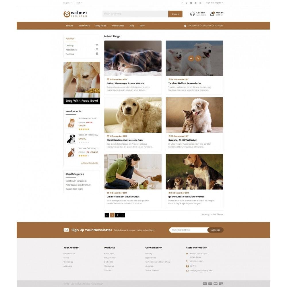 theme - Animales y Mascotas - Walmet - Pets Store - 9