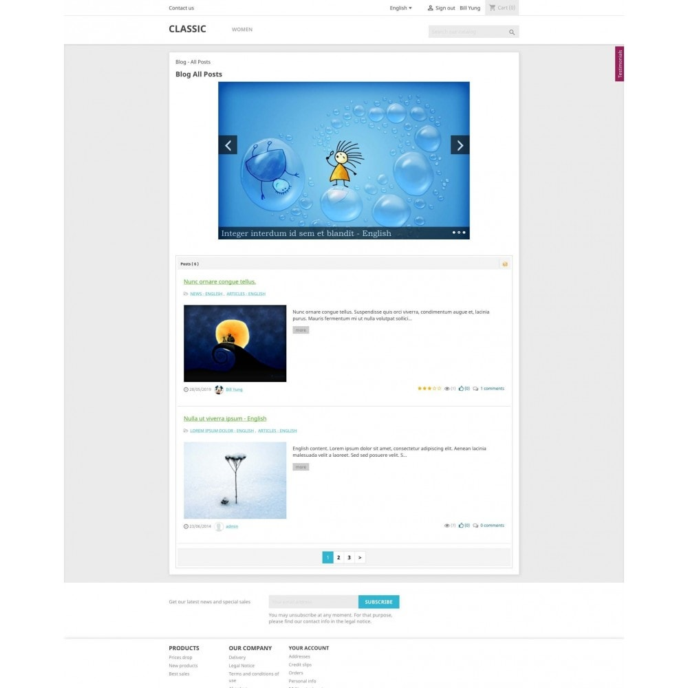 module - Blog, Foro y Noticias - Content Pack (10 in 1) - 12