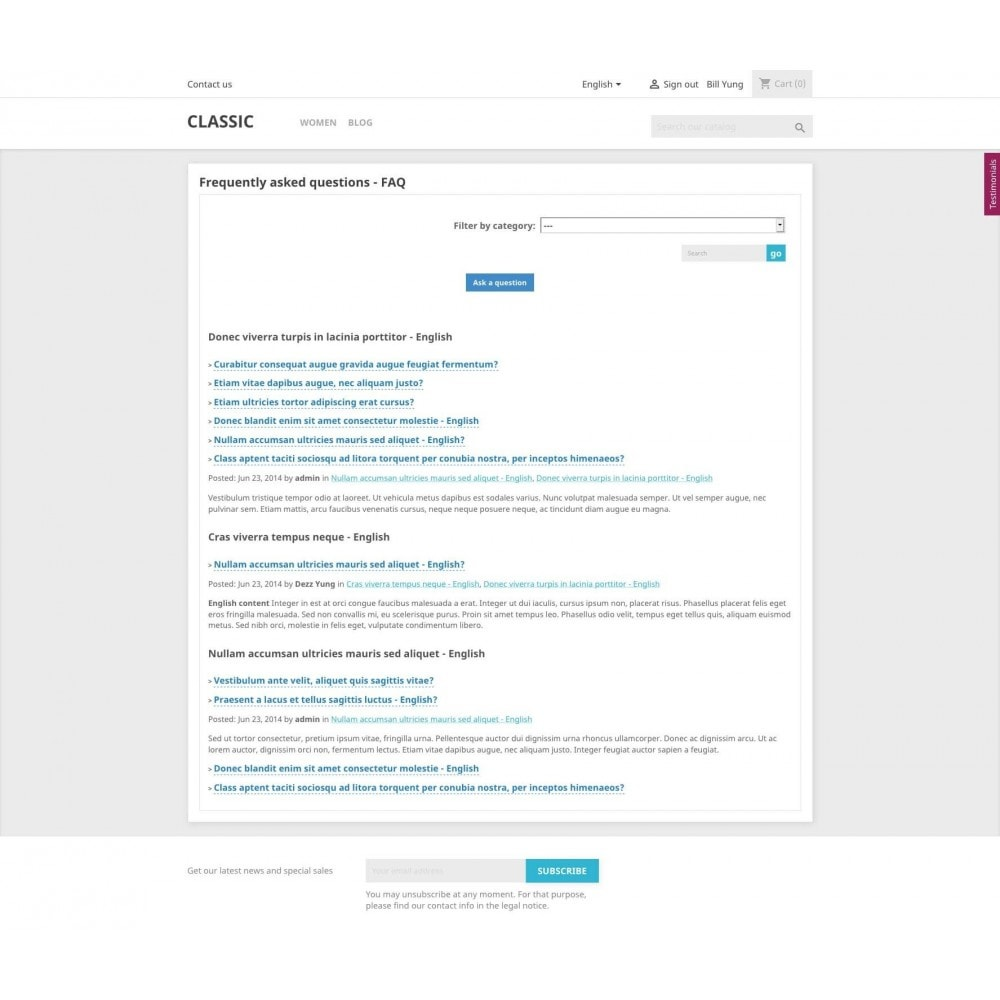 module - Blog, Foro y Noticias - Content Pack (10 in 1) - 23