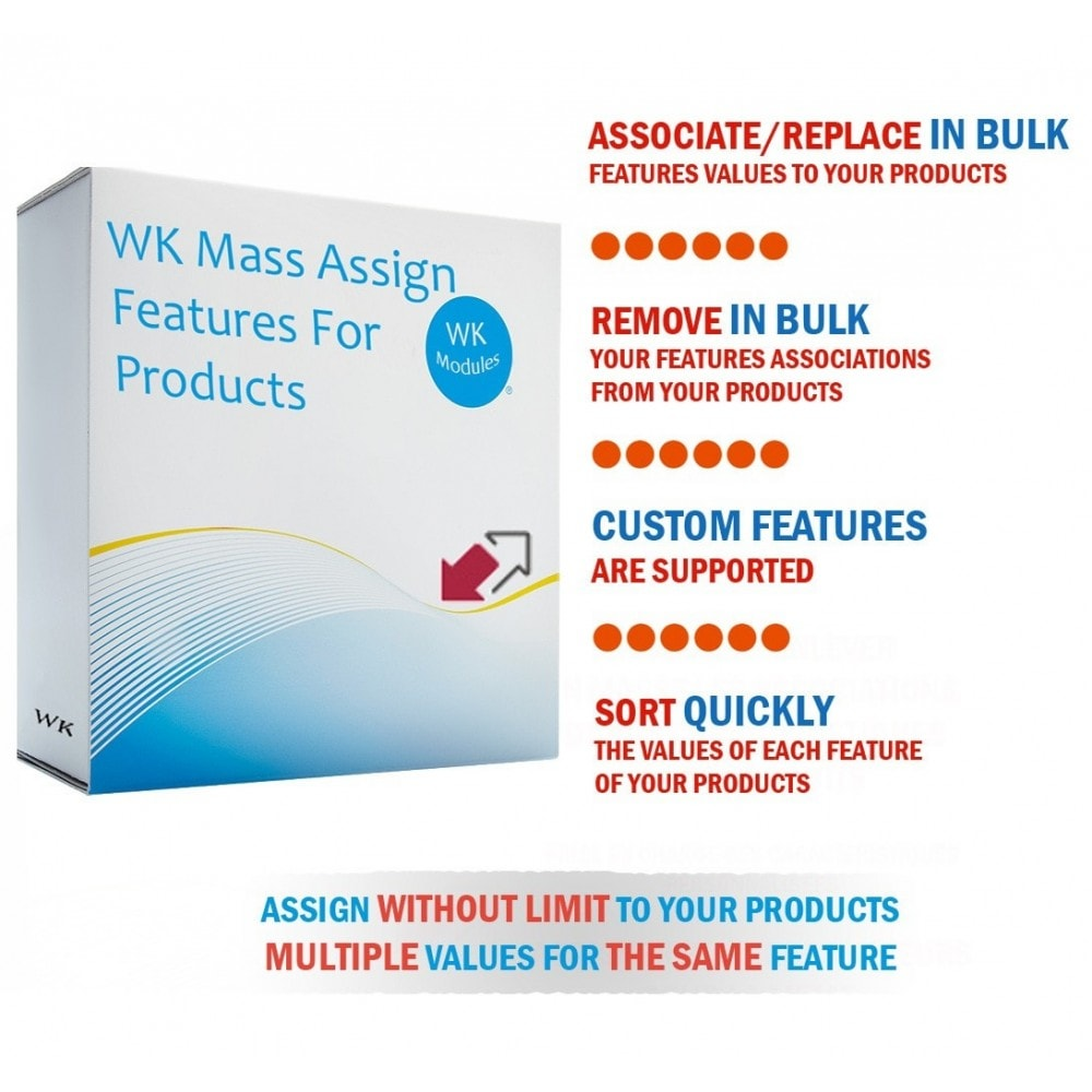 module - Fast & Mass Update - WK Mass Assign Features for Products - 1