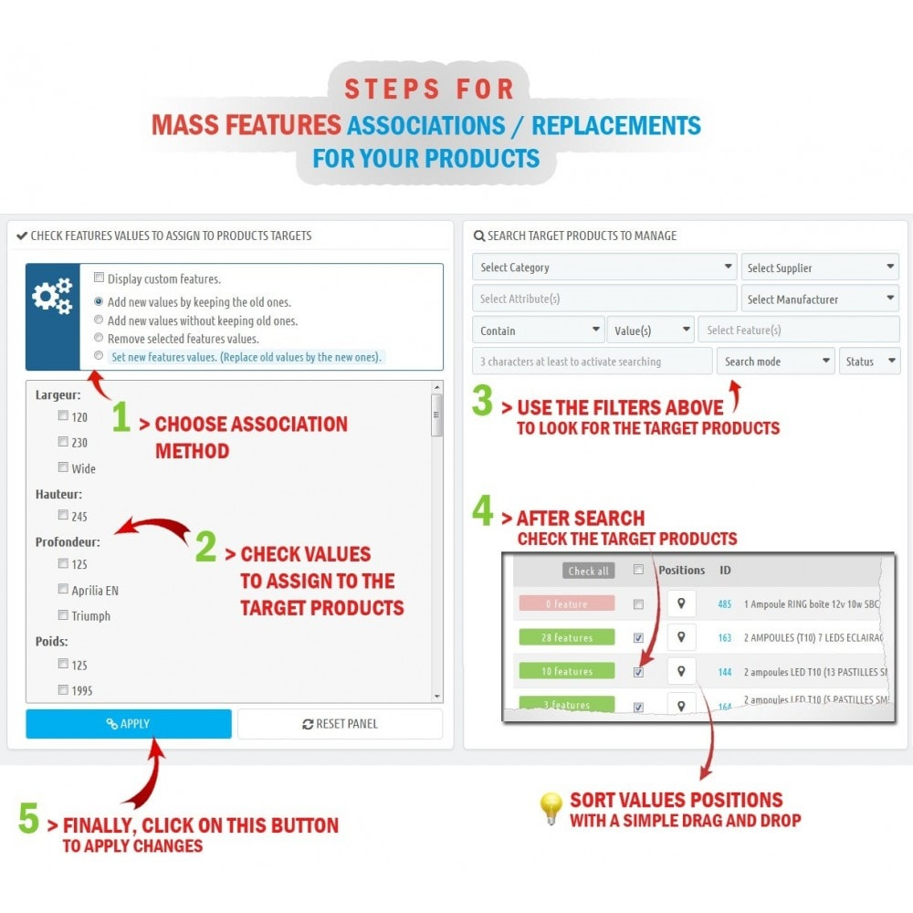 module - Fast & Mass Update - WK Mass Assign Features for Products - 3