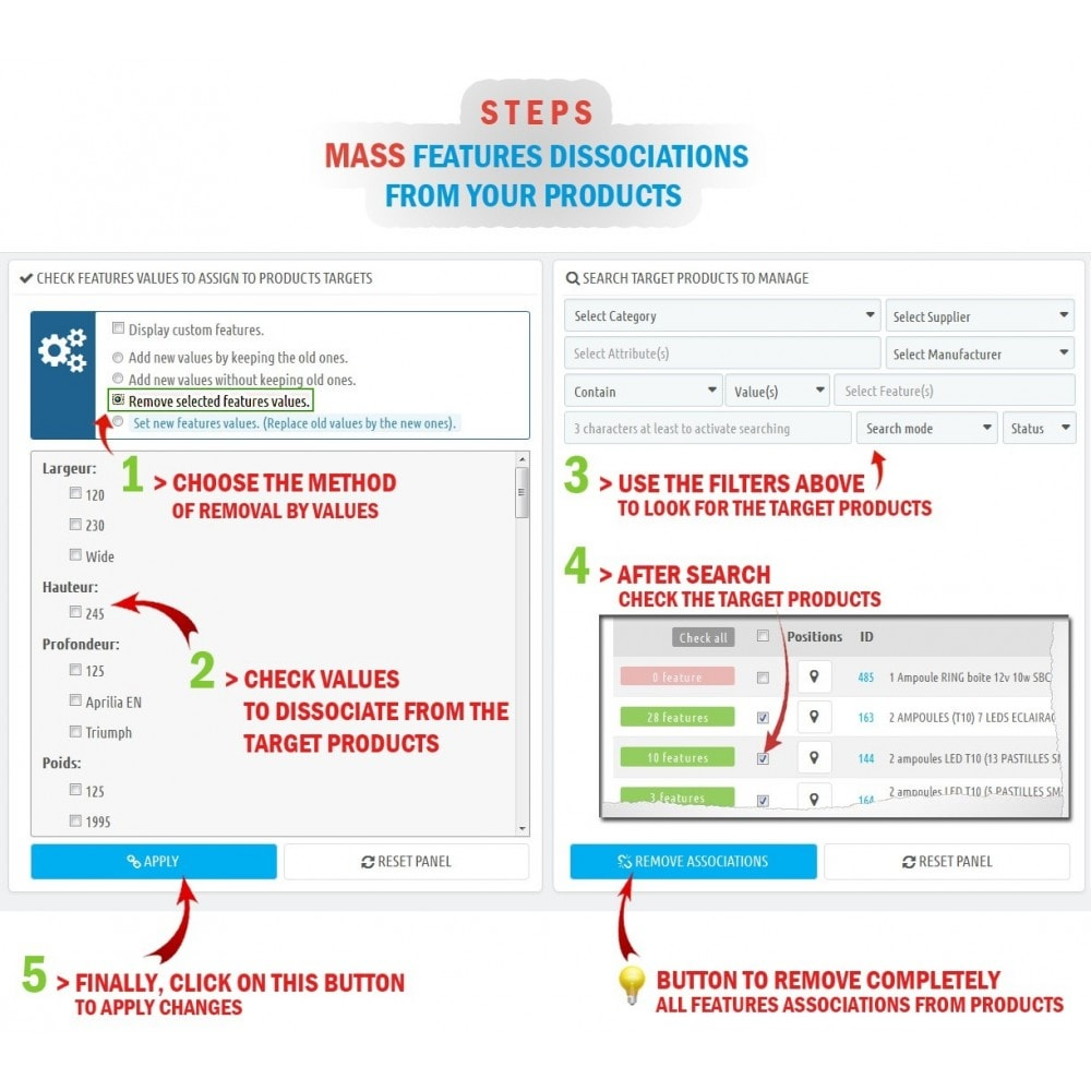 module - Fast & Mass Update - WK Mass Assign Features for Products - 4