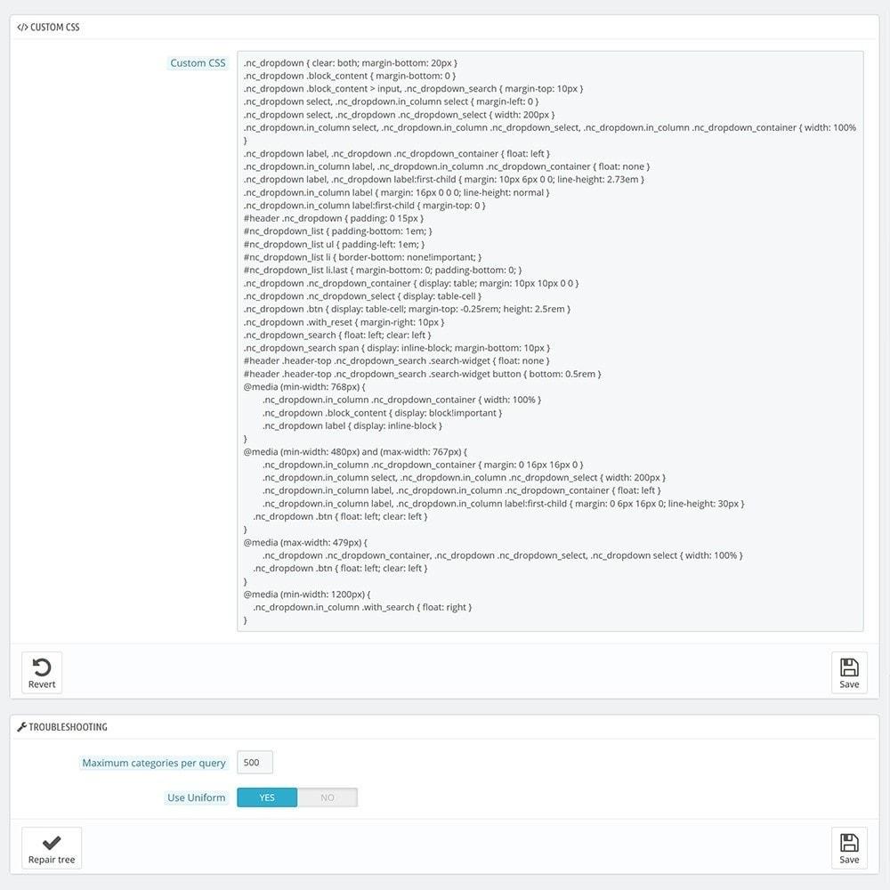 module - Ricerche & Filtri - AJAX Dropdown Categories - 4
