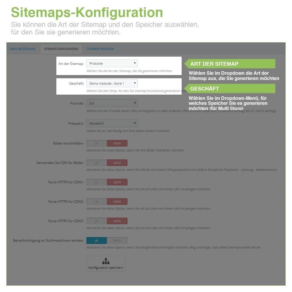 module - SEO - Multisprach und Multishop Sitemap Pro - SEO - 2