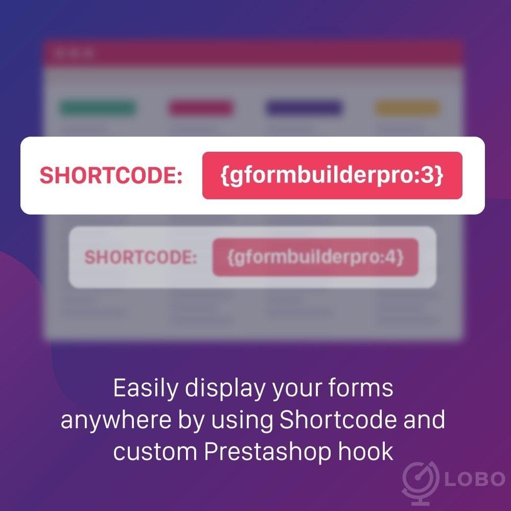 module - Formulario de contacto y Sondeos - Form Builder - contact form, product, cms, quote Form - 1
