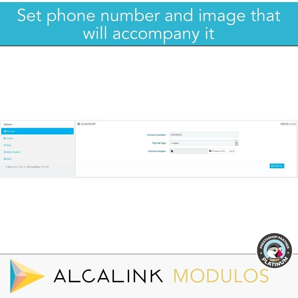 module - Support & Online-Chat - Contact for WhatsApp on 1 Click - 2