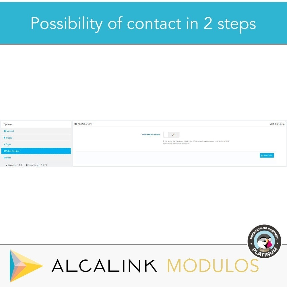 module - Support & Online-Chat - Contact for WhatsApp on 1 Click - 5