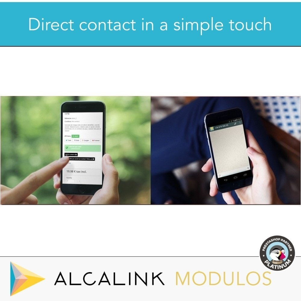 module - Support & Online-Chat - Contact for WhatsApp on 1 Click - 7