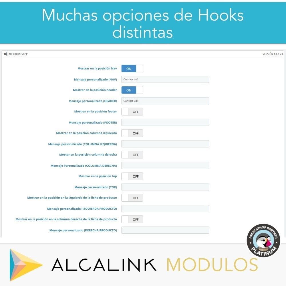 module - Asistencia & Chat online - Contacto por WhatsApp en 1 Clic - 3
