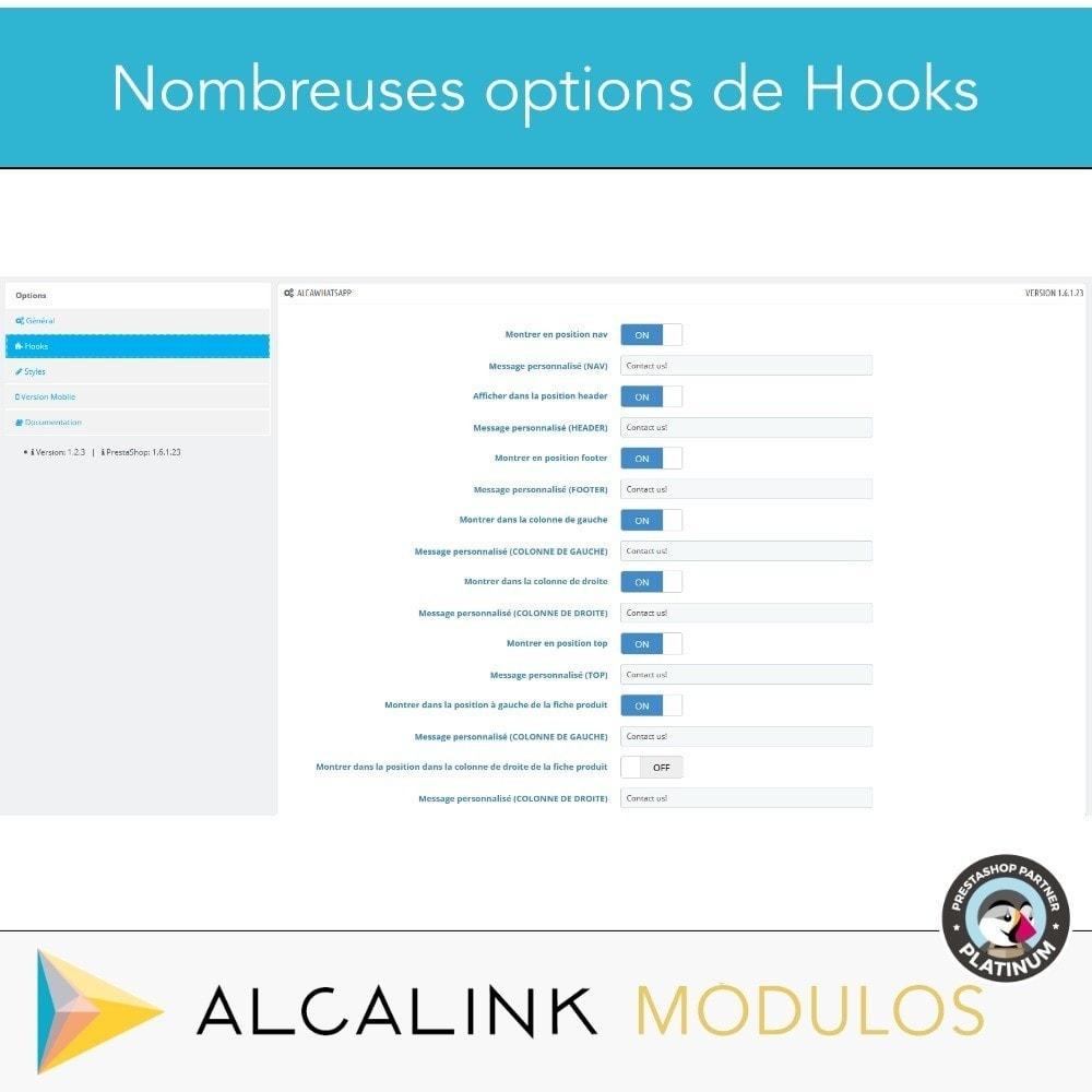 module - Support & Chat Online - Contacté par WhatsApp en 1 clic - 3
