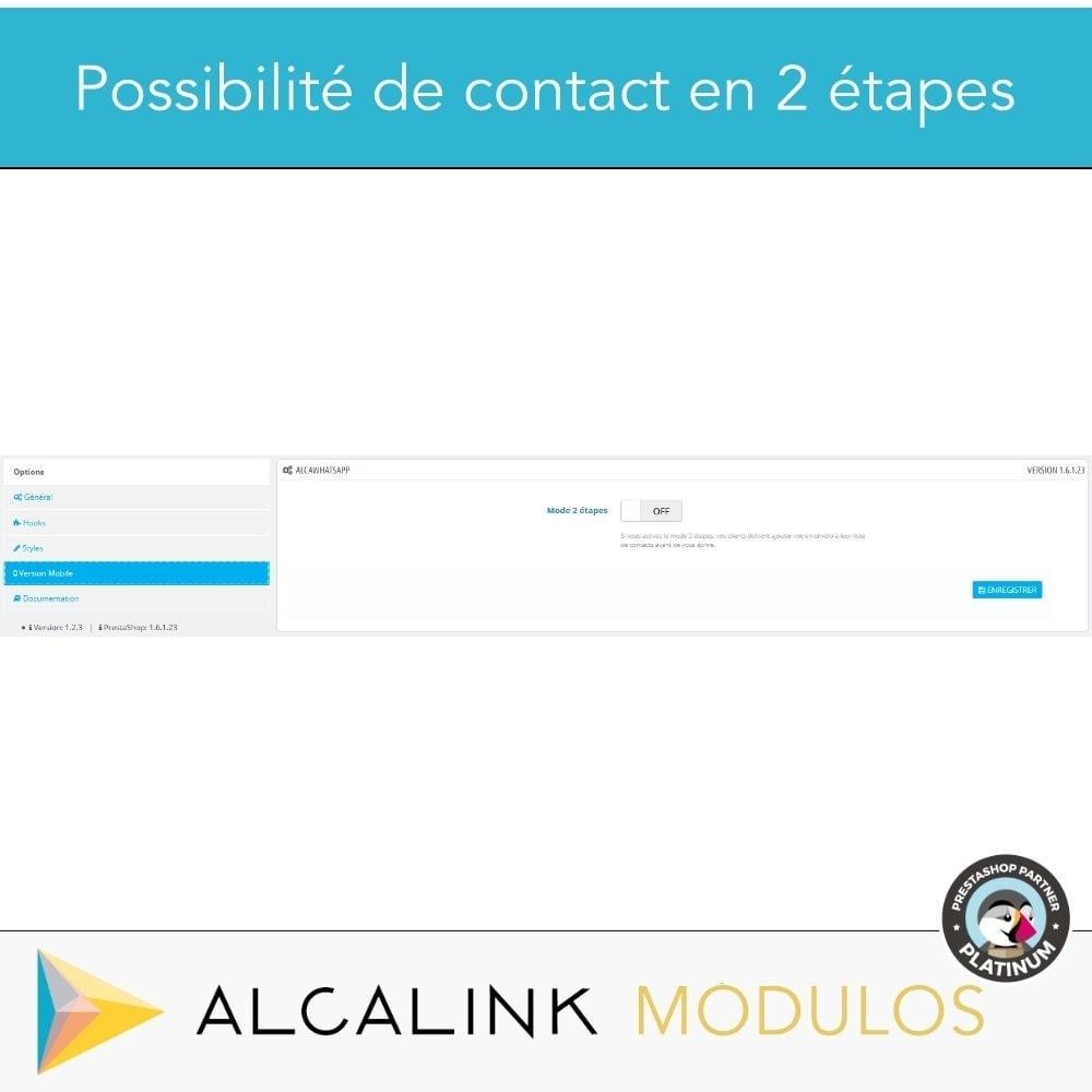 module - Support & Chat Online - Contacté par WhatsApp en 1 clic - 5