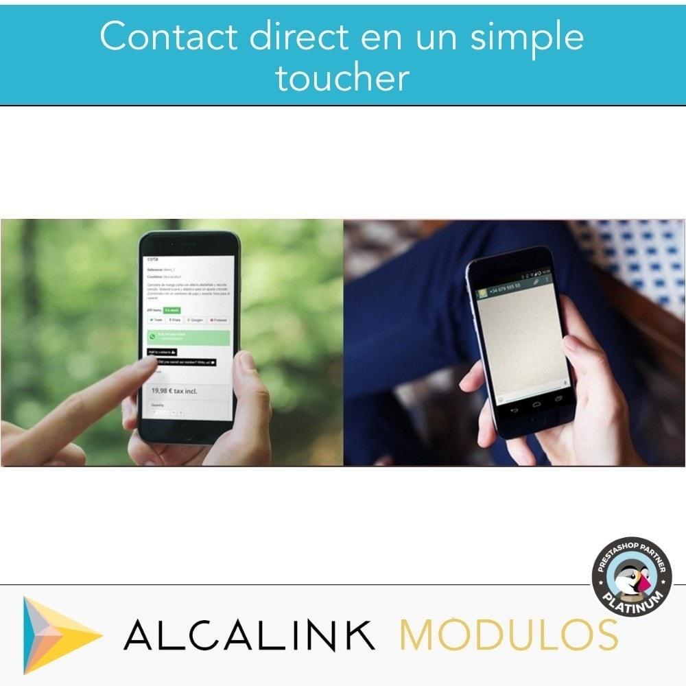 module - Support & Chat Online - Contacté par WhatsApp en 1 clic - 7