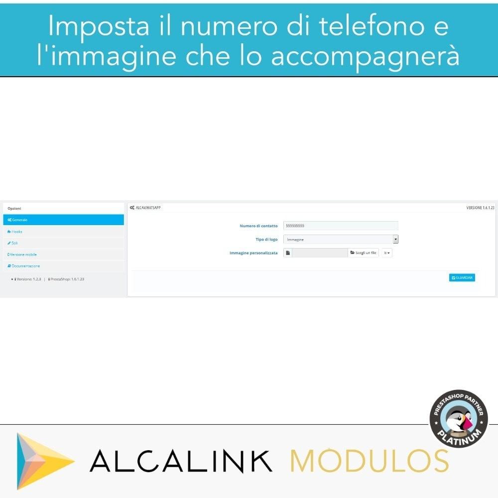 module - Supporto & Chat online - Contattare da WhatsApp in 1 clic - 2