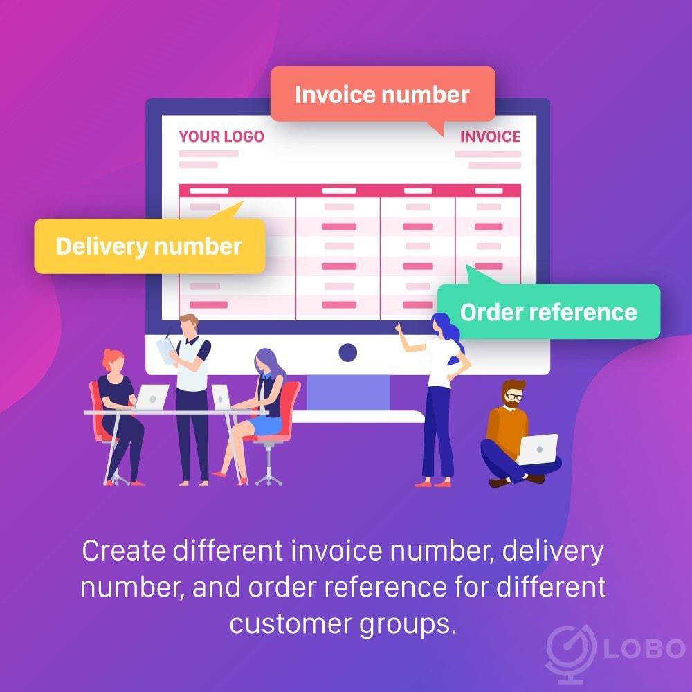 module - Boekhouding en fakturatie - PDF Invoice Template + Delivery + Custom Number - 3