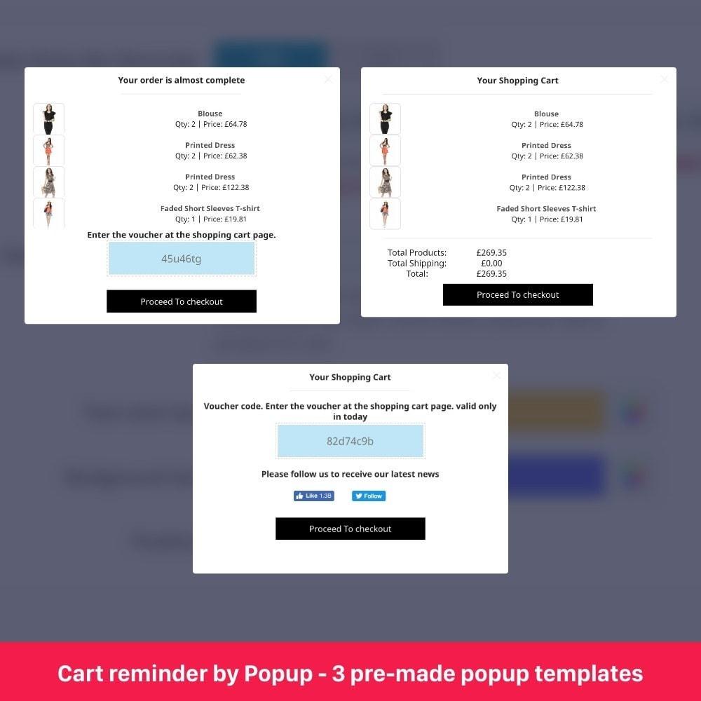 module - Remarketing & Opuszczone koszyki - Abandoned Cart Reminder 5 in 1 - 11