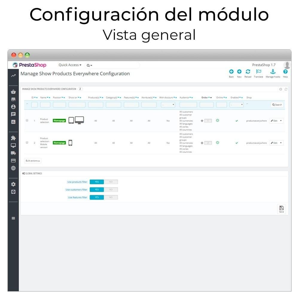module - Sliders y Galerías de imágenes - Carrusel y slider de productos - 2
