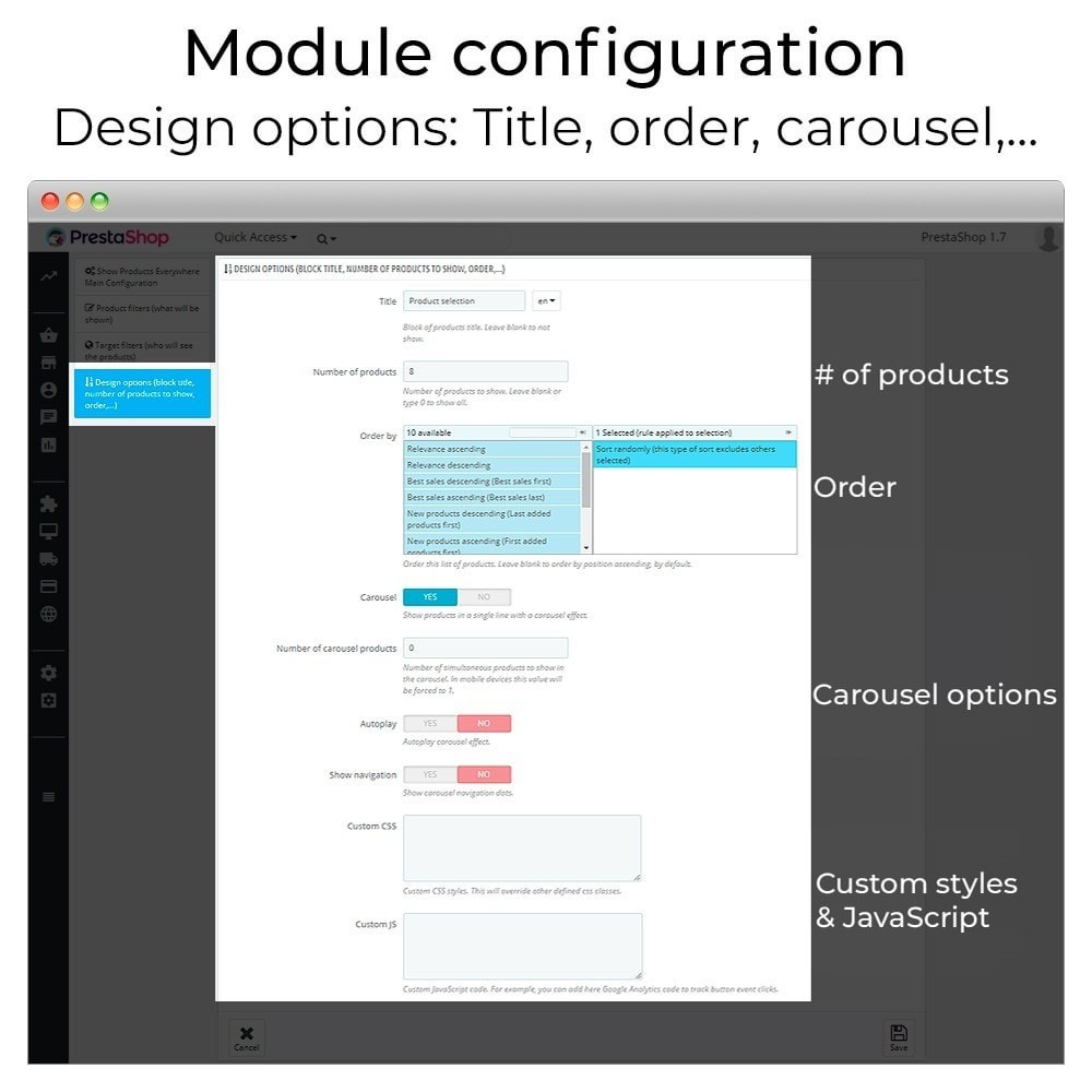 module - Sliders & Galleries - Products carousel and slider - 8
