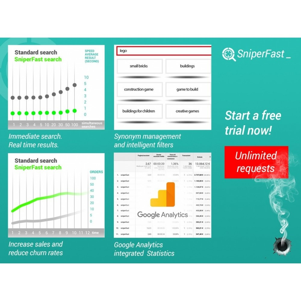 module - Search & Filters - Fast and instant search for ecommerce - SniperFast - 3