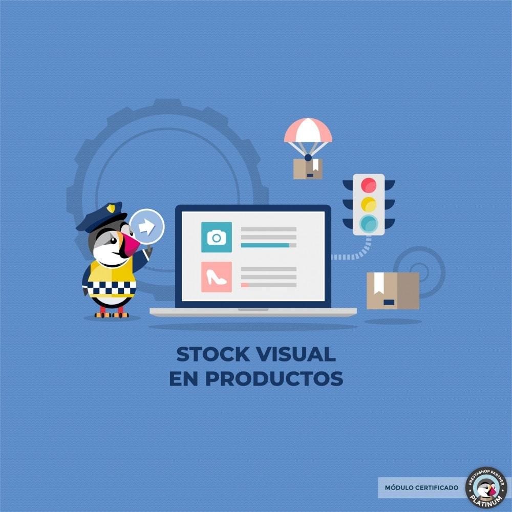 module - Informaciones adicionales y Pestañas - Stock de producto tiempo real - 1