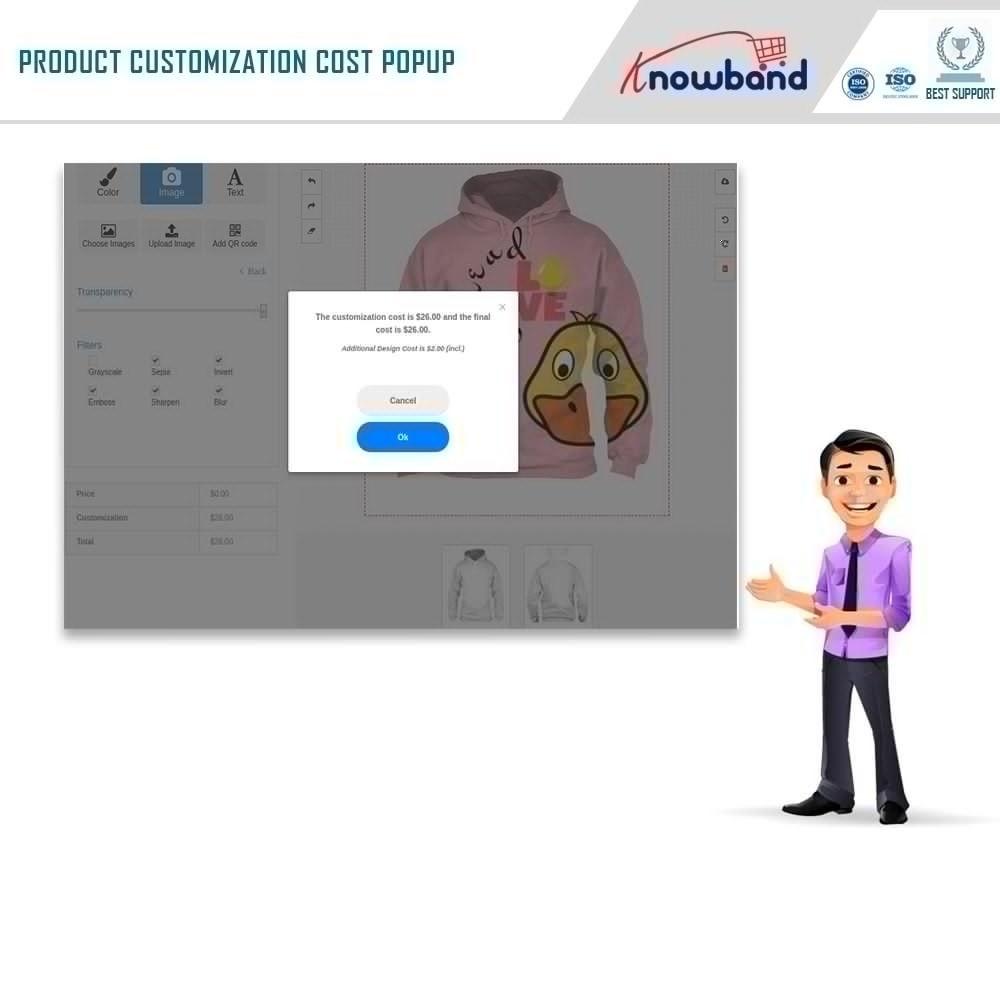 module - Combinations & Product Customization - Product Customizer/Designer - 7