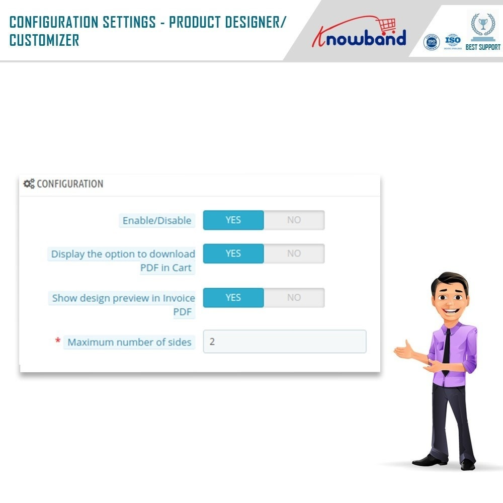module - Combinations & Product Customization - Product Customizer/Designer - 8