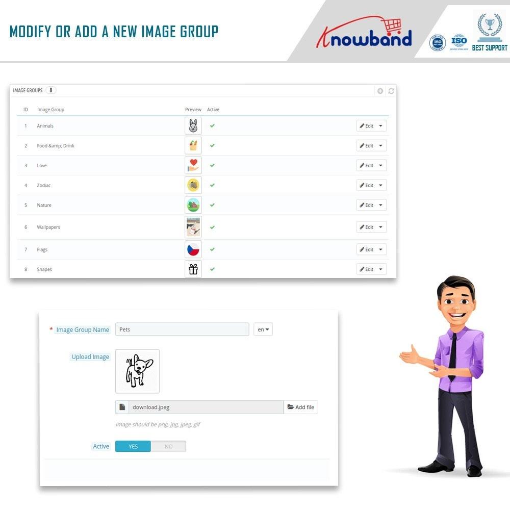 module - Combinations & Product Customization - Product Customizer/Designer - 11