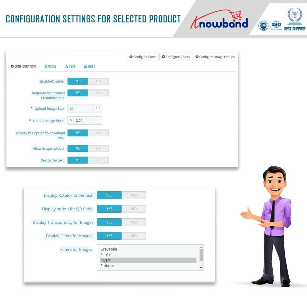 module - Combinations & Product Customization - Product Customizer/Designer - 12