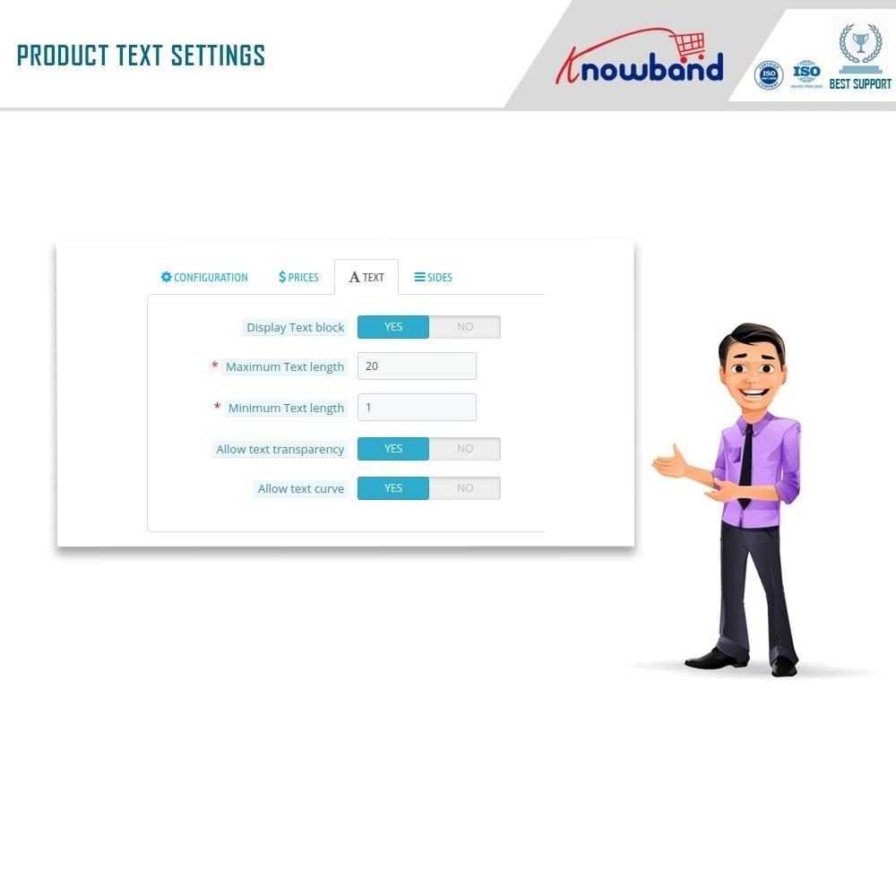 module - Combinations & Product Customization - Product Customizer/Designer - 14