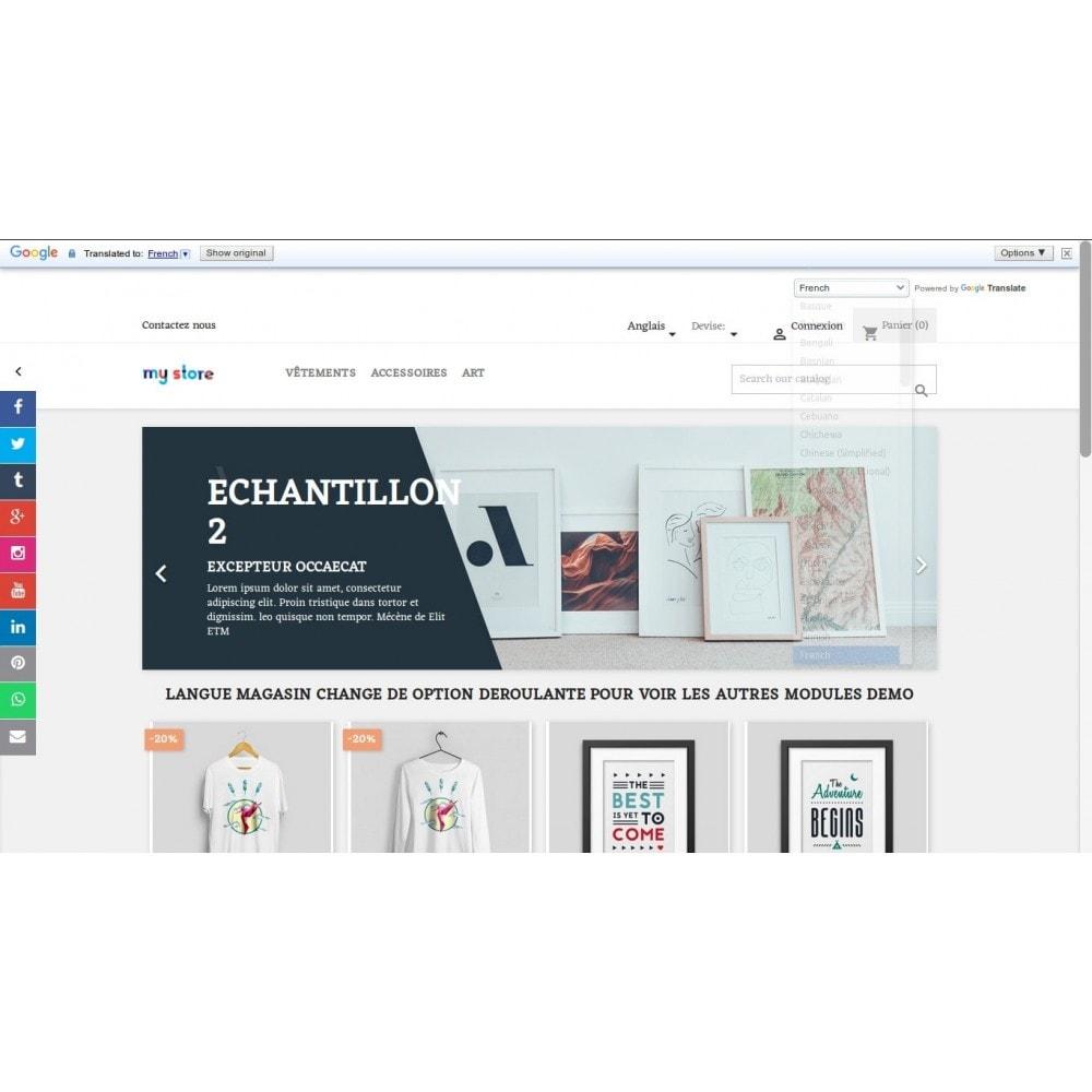 module - International & Localisation - Google Traduction de magasin dans plus de 100 langues - 3