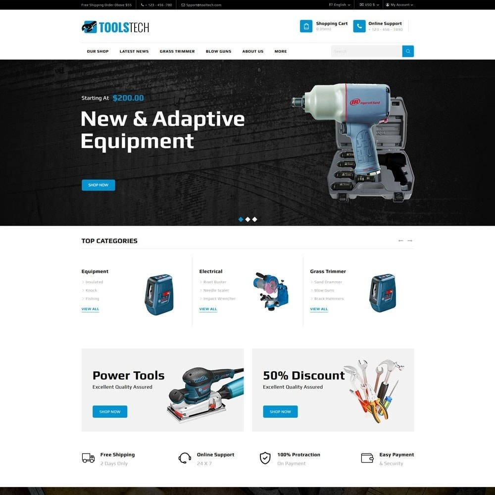 theme - Electronics & Computers - ToolTech - The Tool Store - 3