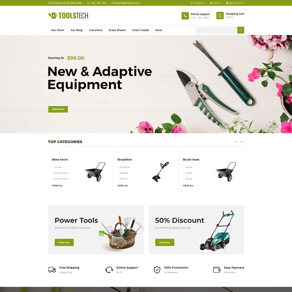 theme - Electronics & Computers - ToolTech - The Tool Store - 4