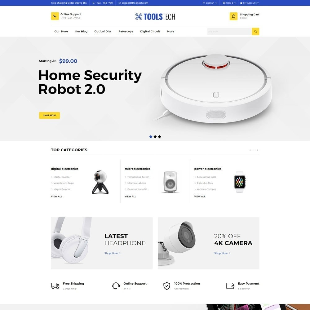 theme - Electronics & Computers - ToolTech - The Tool Store - 5
