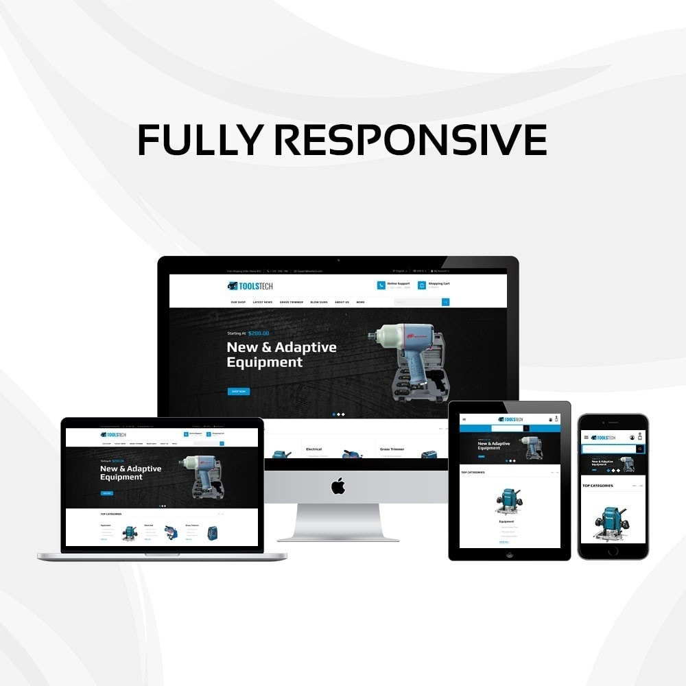 theme - Elettronica & High Tech - ToolTech - The Tool Store - 2