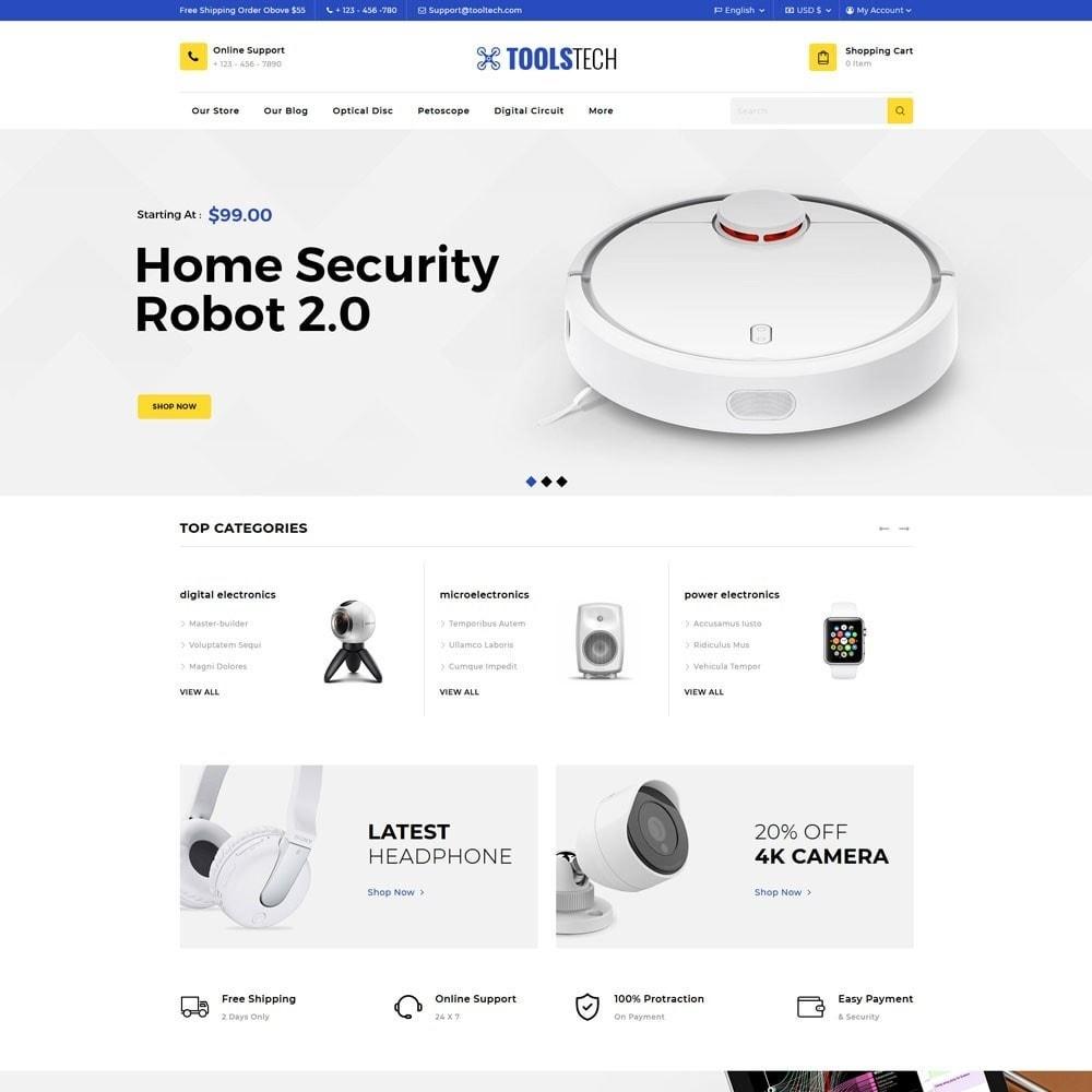 theme - Electronique & High Tech - ToolTech - Le magasin d'outils - 5