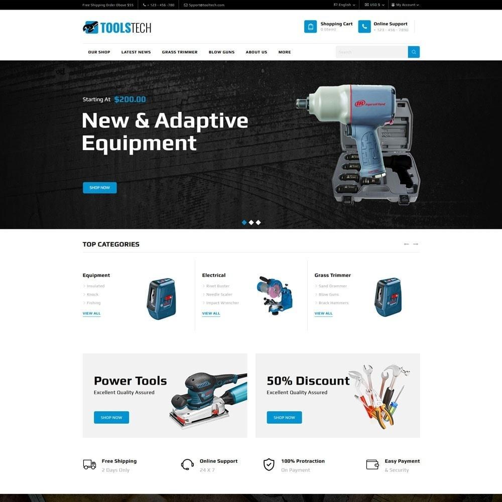 theme - Electrónica e High Tech - ToolTech - La tienda de herramientas - 3