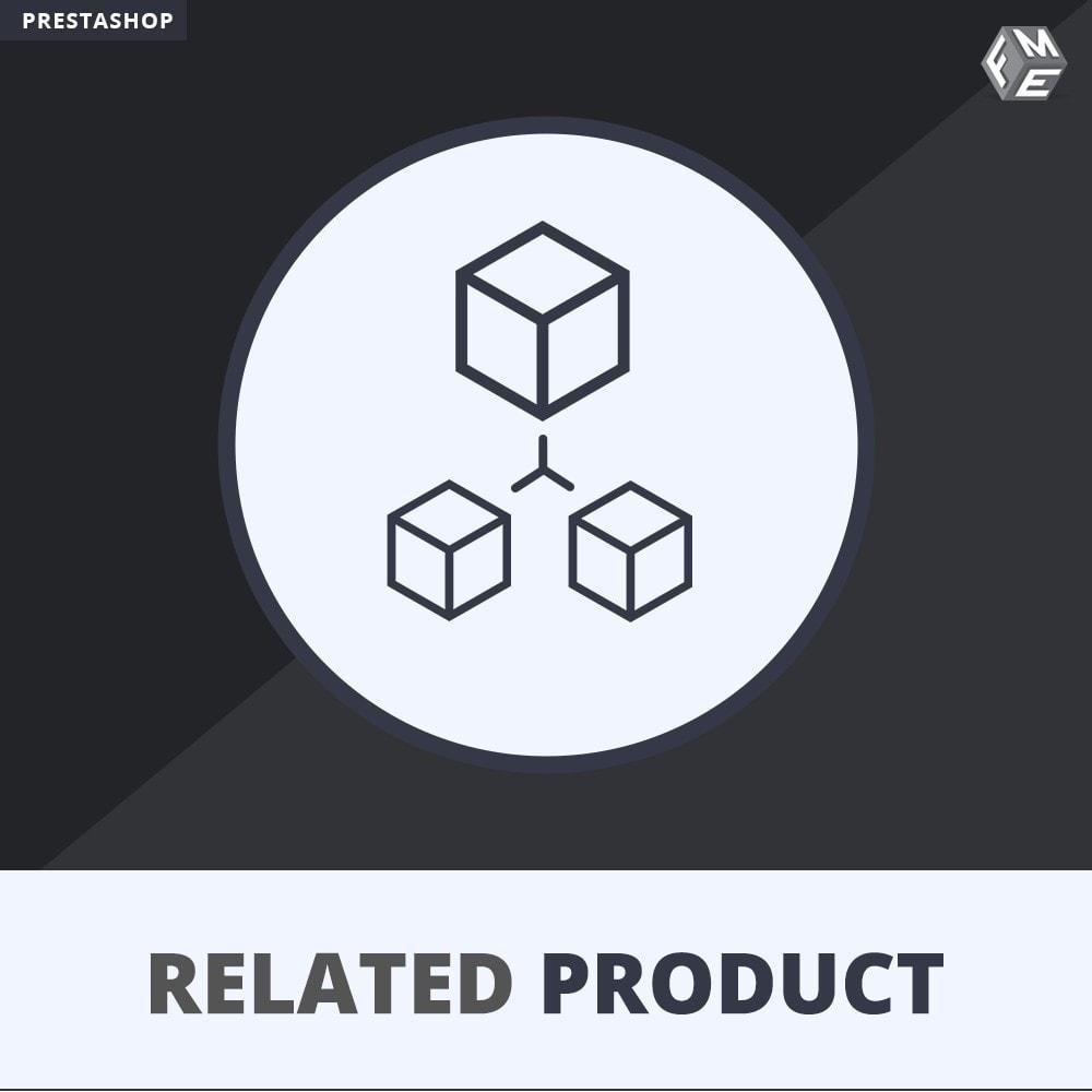 module - Vendas cruzadas & Pacotes de produtos - Related Products: Advance Related Products - 1