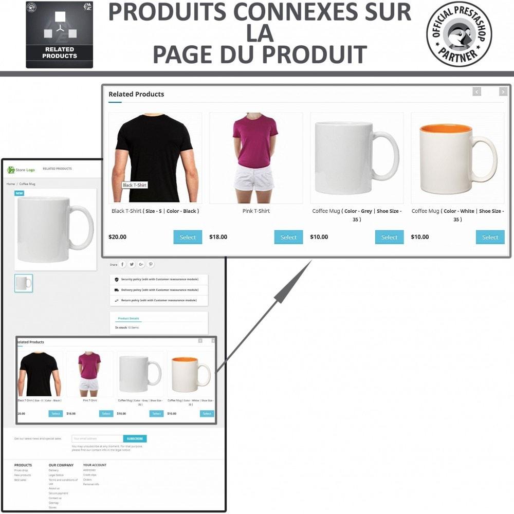 module - Ventes croisées & Packs de produits - Produits Connexes, Curseur Réactif de Produits Connexes - 2
