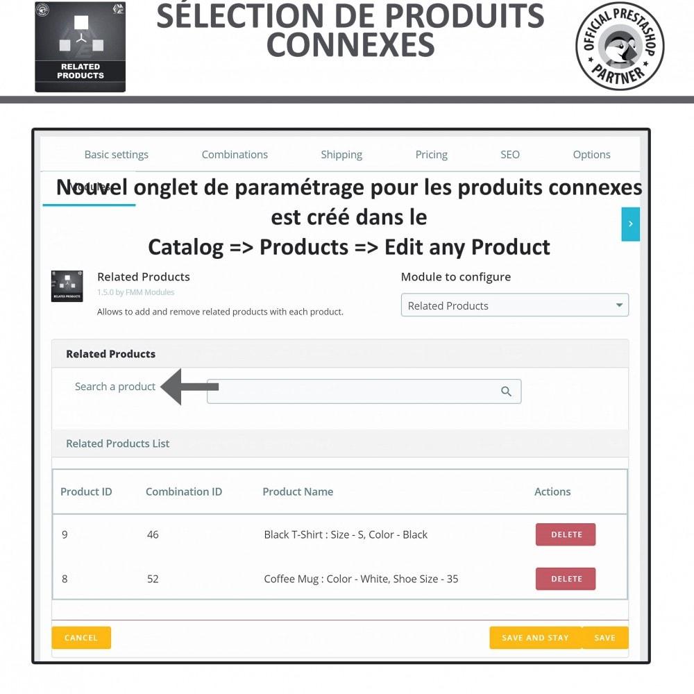 module - Ventes croisées & Packs de produits - Produits Connexes, Curseur Réactif de Produits Connexes - 9
