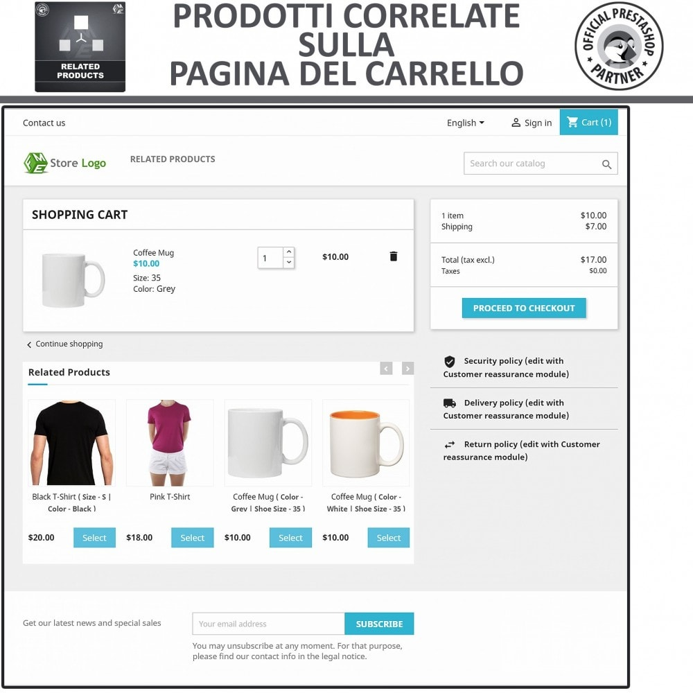 module - Cross-selling & Product Bundle - Prodotti Correlati,  Una Slider per Prodotti Simili - 3
